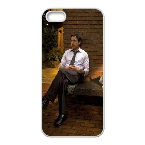 Zach Galifianakis Robert Downey Jr Cast Shot Celebrities Shop 27475 coque iPhone 4 4S cellulaire cas coque de téléphone cas blanche couverture de téléphone portable EOKXLLNCD20915