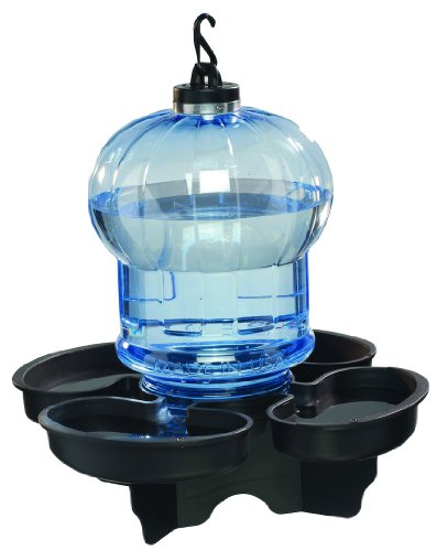 First Nature 3004 Globe Style Bird Bath and Waterer, My Pet Supplies