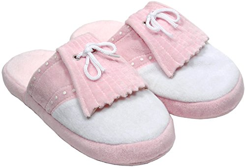 Pro Active Sports NEW Lady Golf Bedroom Slippers Size Small 4-6 Pink (Golf Slippers)