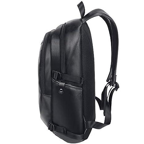 Cvxgdsfg Neue M/änner Tasche koreanische Art und Weise Reiserucksack Leder Rucksack mit gro/ßer Kapazit/ät Studententasche