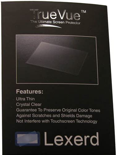 Compatible with Canon HF100 TrueVue Anti-Glare Digital Camcorder Screen Protector Lexerd