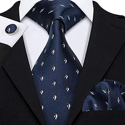 WOXHY Corbata de los Hombres Ls-5069 Hombres Corbata 100% Seda ...