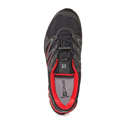Salomon Scarpe da Camminata ed Escursionismo Uomo Nero Black/Phantom/Fiery Red Schwarz/Rot El Envío Libre 100% Auténtico 9sHCpUAaXZ