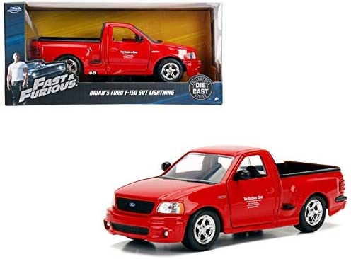 Jada Toys The Fast and Furious Brian/'s Ford F-150 SVT Lightning Pickup...