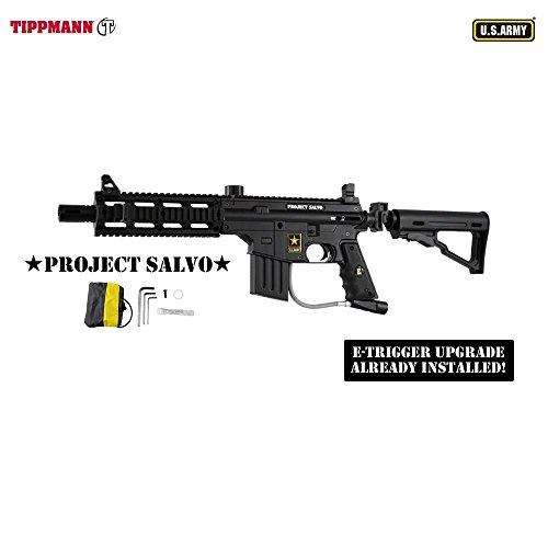 Tippmann U.S. Army Project Salvo w/E-Grip Paintball Gun - ()