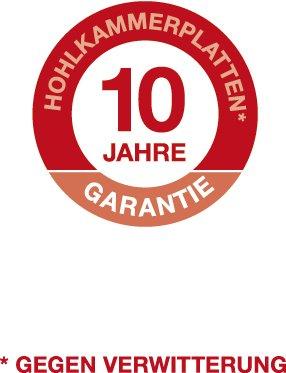 KGT Gew/ächshaus Rose III BxT 233x323 cm silberfarben