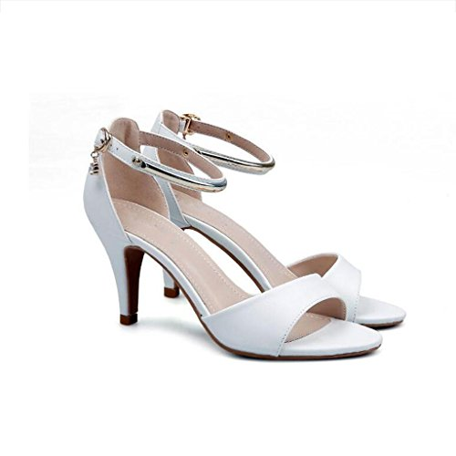 W&LM Sra Tacones altos De acuerdo Ultra Tacones altos Plataforma a prueba de agua Es bueno Boca rasa Zapato Zapatos individuales golden
