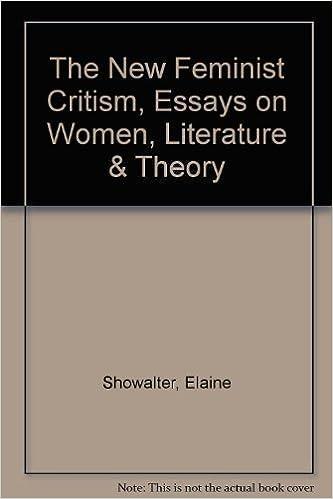 elaine showalter essays