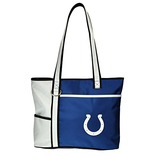 NFL Indianapolis Colts Tote Bag with Embroidered Logo