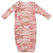 Infant Baby Pink Camo L/S One Piece Sleeper