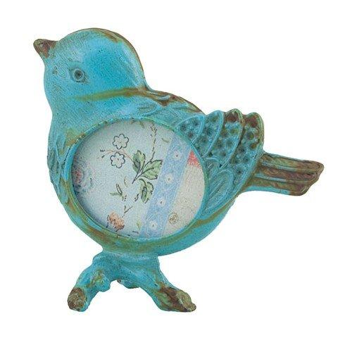 World Buyers Little Bird Photo Frame Blue 2.875x2.5 -