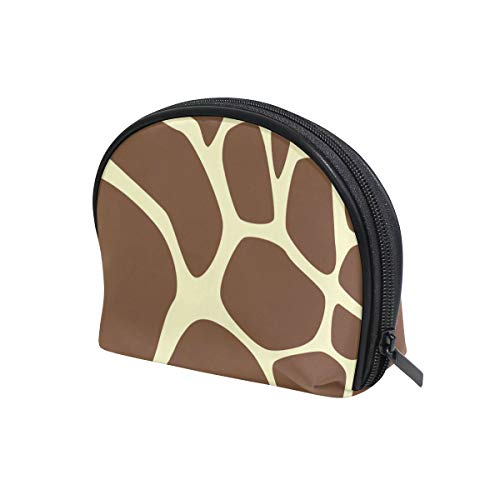 Unicey Animal Giraffe Print Makeup Bags Portable Tote Cosmetics Bag Travel Cosmetic Organizer Toiletry Bag Make-up Cases for Women