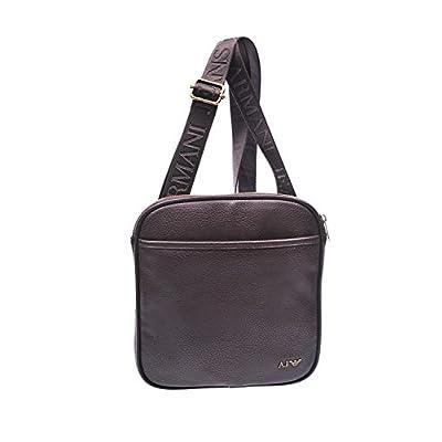 8331ddabc783 85%OFF Armani Jeans men s cross-body messenger shoulder bag vintage brown