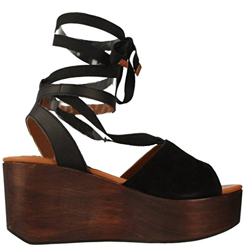 Sandalias y chanclas para mujer, color Negro , marca GIOSEPPO, modelo Sandalias Y Chanclas Para Mujer GIOSEPPO 39896G Negro Negro