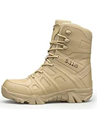 Large Size Special Forces Desert Boots, Delta Tactics Wish Military Boots Outdoor Hiking Mountaineering Breathable Combat Boots