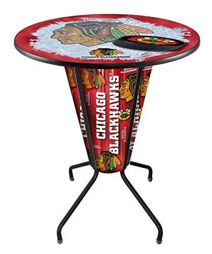 - Lighted Carolina Hurricanes Pub Table