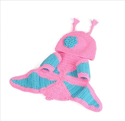 DSP Baby Newborn Knit Crochet Clothes Photo Outfits