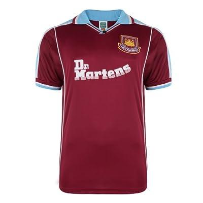 West Ham United 2000 Home Shirt Retro Soccer Jersey