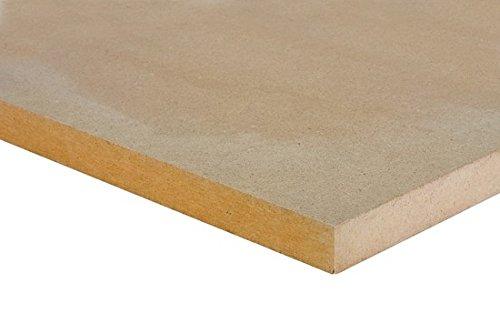 MDF Platte 19 mm Zuschnitt M/öbel Regal Boden Basteln Holz Mitteldichtefaserplatte LxBxH mm 250x250x19