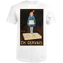 Ch Gervais Vintage Poster (artist: Ylen, Jean D') France c. 1922 (Premium T-Shirt)