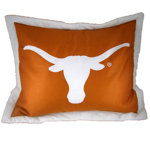 Texas Printed Pillow Sham by College Covers