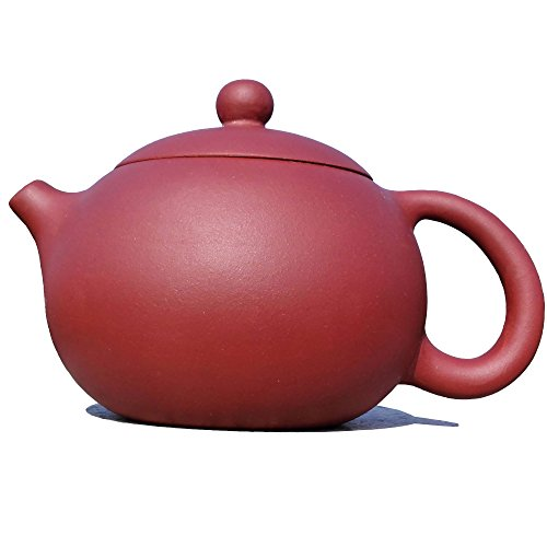 Yixing Teapot Handmade Tea Pot,nature Clay,red,200cc