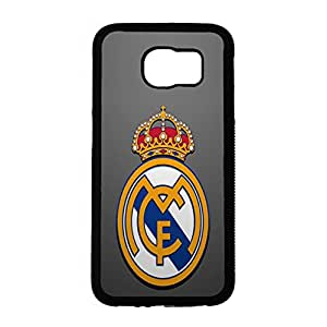 Classical Logo Style Real Madrid CF Phone Case Cover for Samsung Galaxy S6 Real Madrid Awesome Logo Design