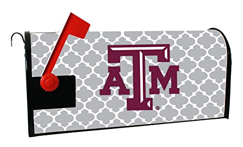 TEXAS A&M AGGIES MAILBOX COVER-TEXAS A&M UNIVERSITY MAGNETIC MAIL BOX COVER-MOROCCAN DESIGN