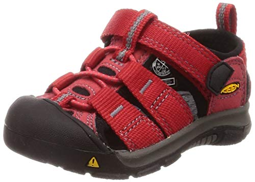 Keen Unisex Kid's Newport H2 Sandal, ribbon red/gargoyle, 5 M US -