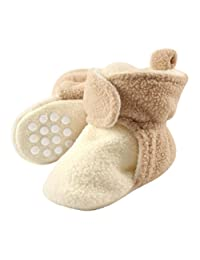 ed391d7e Luvable Friends - Botines de forro polar para bebé con fondo antideslizante