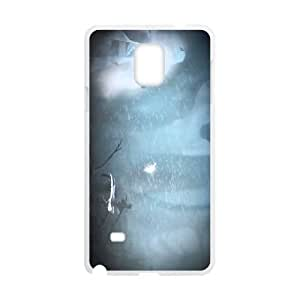 Samsung Galaxy Note 4 Cell Phone Case White Never Alone Kisima Ingitchuna OJ433262