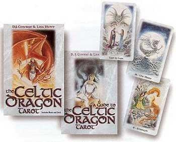 NEW Celtic Dragon tarot deck & book (Tarot Deck & Book Sets) by AzureGreen (Image #1)