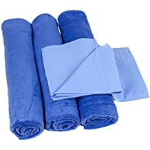 3 Pack - Neighbor's Envy XL Microfiber Towels - Extra Large 24 x 60 inch Auto Detailing Towels - Professional Quality