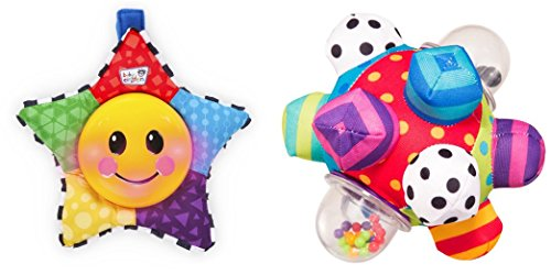 [Baby Einstein Star Bright Symphony Toy & Developmental Bumpy Ball Toys for Kids, 2 Pack] (Baby Fish Costume Diy)