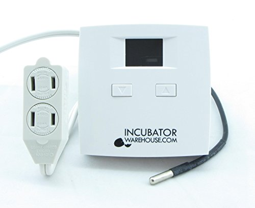 Plug 'n Play Digital Electronic Thermostat with Remote Sensor
