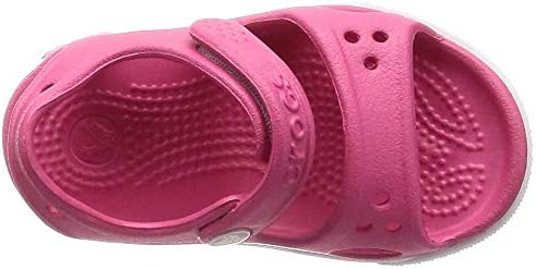 Slip On Shoes for Boys and Girls 7 US Toddler Paradise Pink//C Water Shoes Crocs Kids Crocband II Sandal