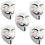 SN-RIGGOR 5 Packs V for Vendetta Anonymous Resin
