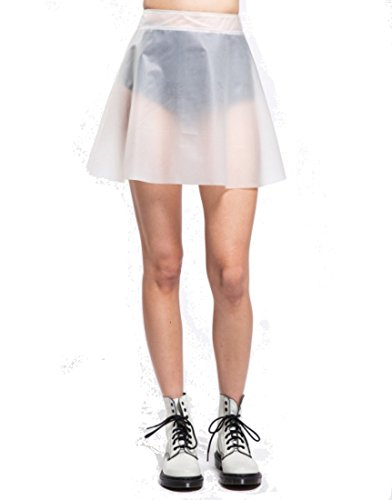 Tripp NYC Plastic Circle Skirt (X-Large, Frosted) (Plastic Skirt)
