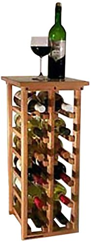 Wine Racks Wineracks 12 Bottle Floor Model, Oak, used for sale  Delivered anywhere in USA