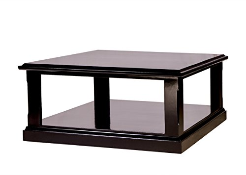Forest Designs Mission Alder Area Table: 36W X 16H X 36D Unfinished (Alder Table)