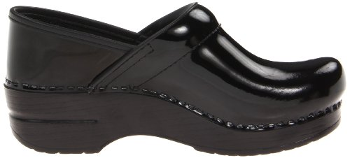 Narrow Black Women's Professional Clog Patent Dansko qIxEd5wRd