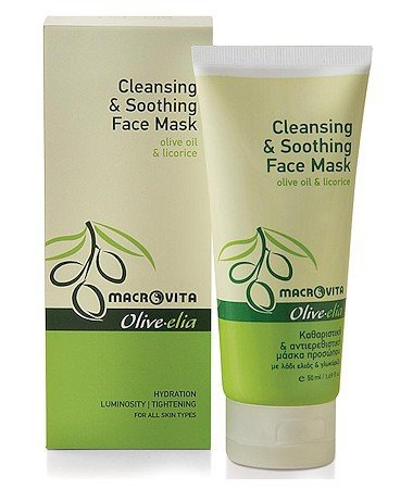 olivelia-cleansing-soothing-face-mask-olive-oil-licorice-hydration-luminosity-tightening-50-ml