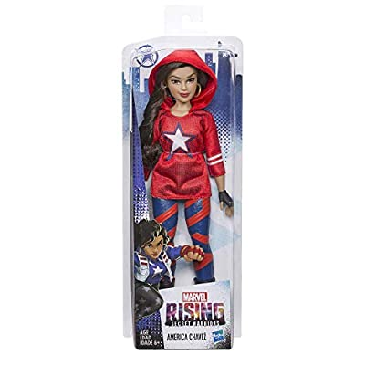 Marvel Rising Secret Warriors America Chavez Training Outfit Doll: Toys & Games