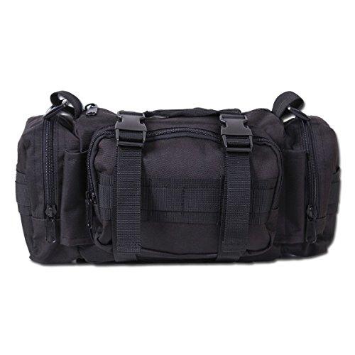 Schultertasche Rothco Tactical schwarz