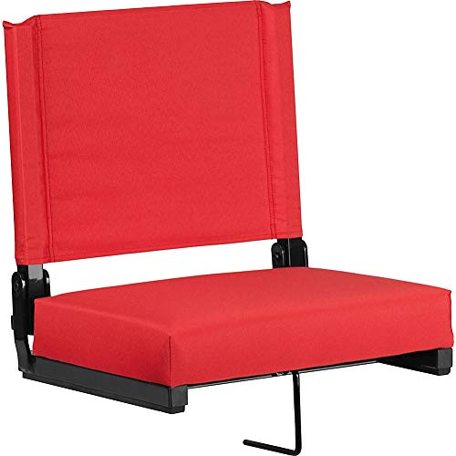 Flash Furniture Grandstand Comfort Seats by Flash with Ultra-Padded Seat – DiZiSports Store
