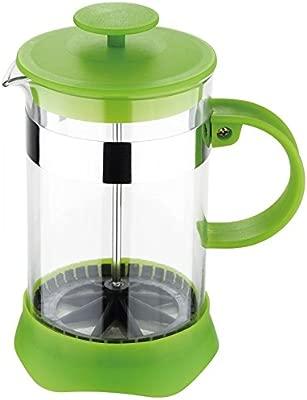 Cafetera (600 ml de vidrio (Tetera de émbolo, cafetera de émbolo ...