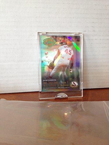 Topps Classic Etopps Bob Gibson 1968 World Series St. Louis Cardinals In Hand MLB Baseball Trading Card