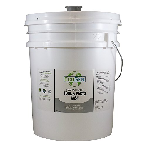 Fluid Part (EcoGen ECOPRT-B Tool & Parts Wash Cleaner, Concentrated, 5 Gallon Bucket)