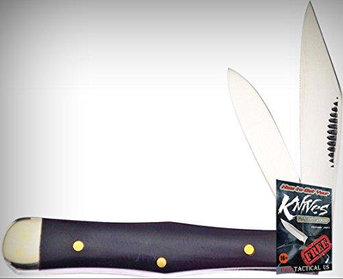 """Frost Cutlery FBFT085CBH Barefoot Coke Bottle 3"""" Folding Limited Elite Knife Folder + free eBook by ProTactical'US"""
