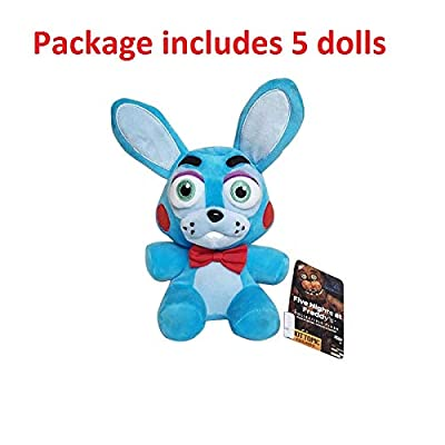 Y-Trust 18cm Five Nights at Freddy's 4 FNAF Bonnie Rabbit Plush Toys Soft Stuffed Animals Toys Doll for Kids Children: Home & Kitchen